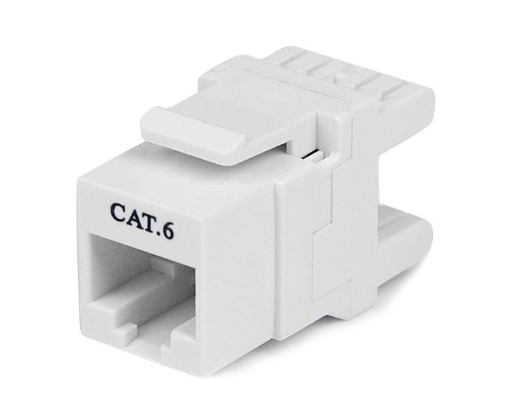 keystone jacks cat 5e cat 6 and tool less for rj45 patch cords etc network computing. Black Bedroom Furniture Sets. Home Design Ideas